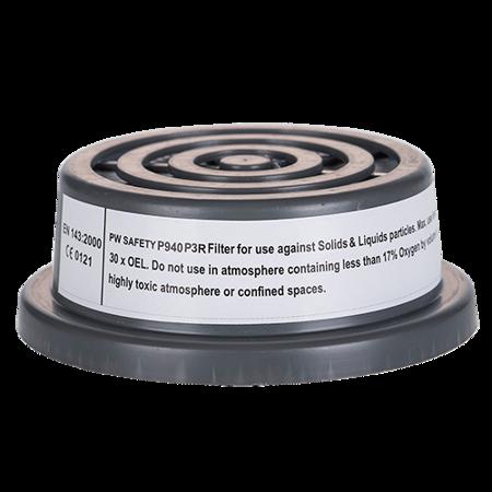 Filtr cząstek stałych P3 wyposażony w specjalny gwint