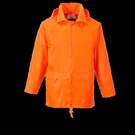 Klasyczna kurtka przeciwdeszczowa