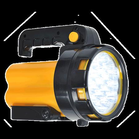 Latarka z 19 diodami LED