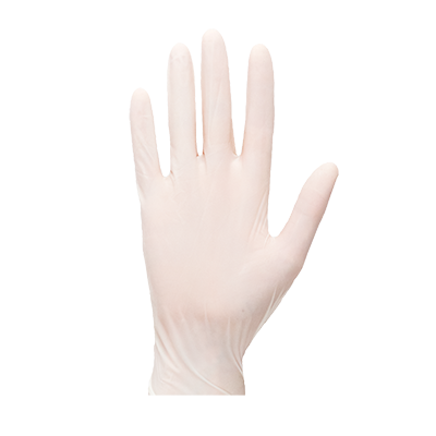 Rękawice jednorazowe lateksowe niepudrowane