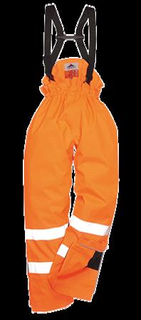 Spodnie BizFlame ostrzegawcze trudnopalne antyelektrostatyczne NIEOCIEPLANE