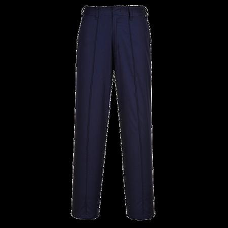 Spodnie damskie z elastycznym pasem