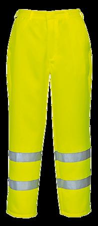 Spodnie ostrzegawcze poliestrowo-bawełniane