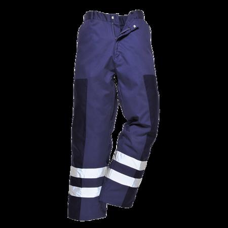 Spodnie wzmacniane na bokach