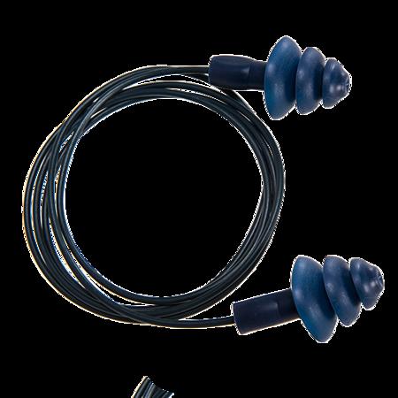 Wykrywalne zatyczki TPR do uszu ze sznurkiem (50 par)