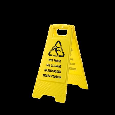Znak ostrzegawczy - Mokra podłoga